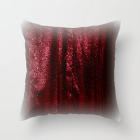 sparkles Throw Pillows featuring Sparkles by Chris' Landscape Images & Designs