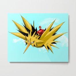 Flash-Dos Metal Print