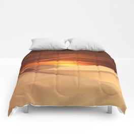 The Sunset On Desert Comforters
