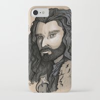thorin iPhone & iPod Cases featuring Thorin by Katy-L-Wood