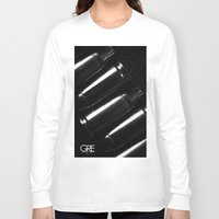 shells Long Sleeve T-shirts featuring Shells by Grelabel