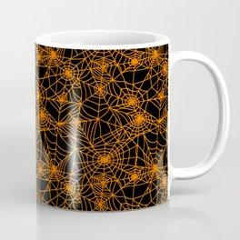 Spooky Spider Webs Coffee Mug