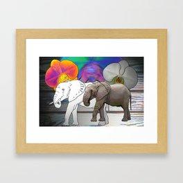 "'Eriphant"" Framed Art Print"