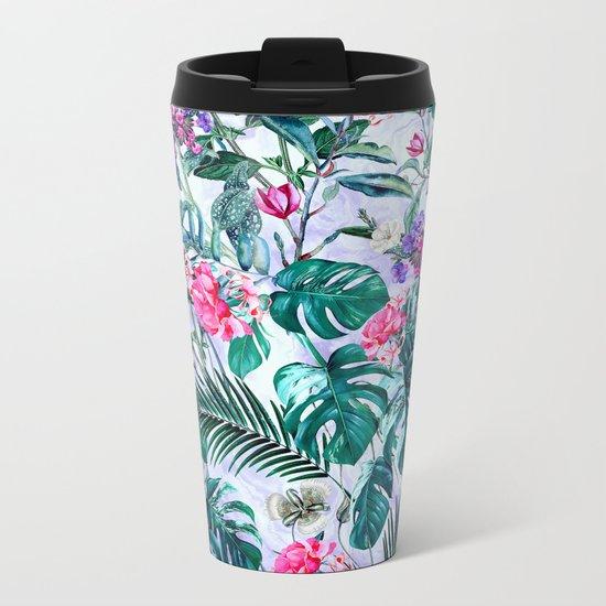 Tropical Garden II Metal Travel Mug