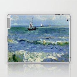 """Vincent Van Gogh """"The Sea at Les Saintes-Maries-de-la-Mer"""" Laptop & iPad Skin"""