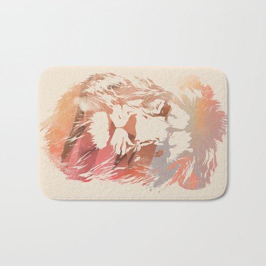 Desert Lion Bath Mat