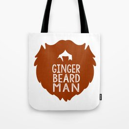 GINGER BEARD MAN Tote Bag