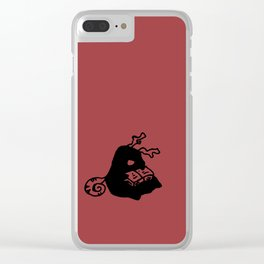 Little reader - China redbud Clear iPhone Case