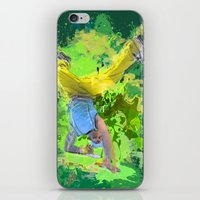 hiphop iPhone & iPod Skins featuring HipHop Forever by Frauste
