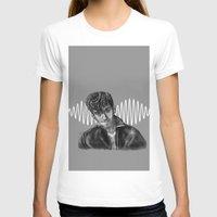 alex turner T-shirts featuring Alex Turner by Luna Perri