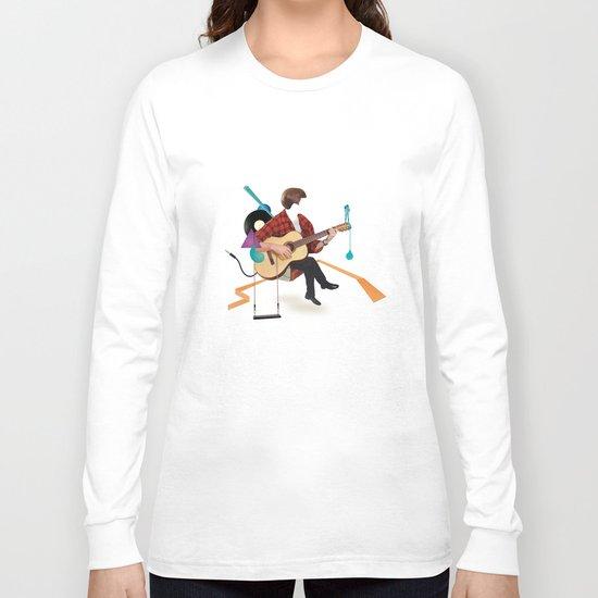 ILOVEMUSIC #1 Long Sleeve T-shirt
