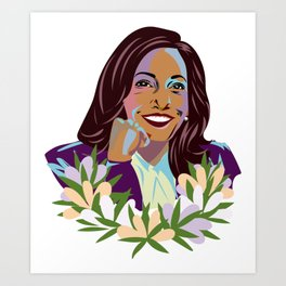 Madam Vice President for the People Art Print