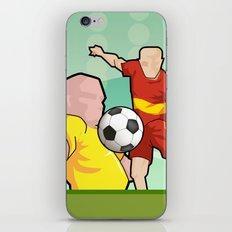 Soccer game iPhone Skin