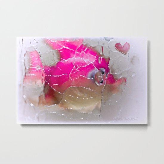 the pink fish Metal Print