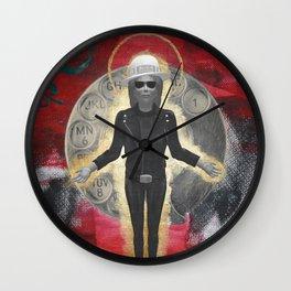 Saint LeRoy of the Sacred Faceless Avatar Wall Clock