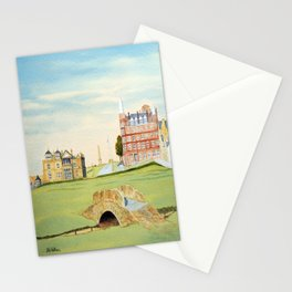 St Andrews Golf Course 18th Hole Stationery Cards