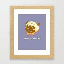 Doctor Pug Framed Art Print