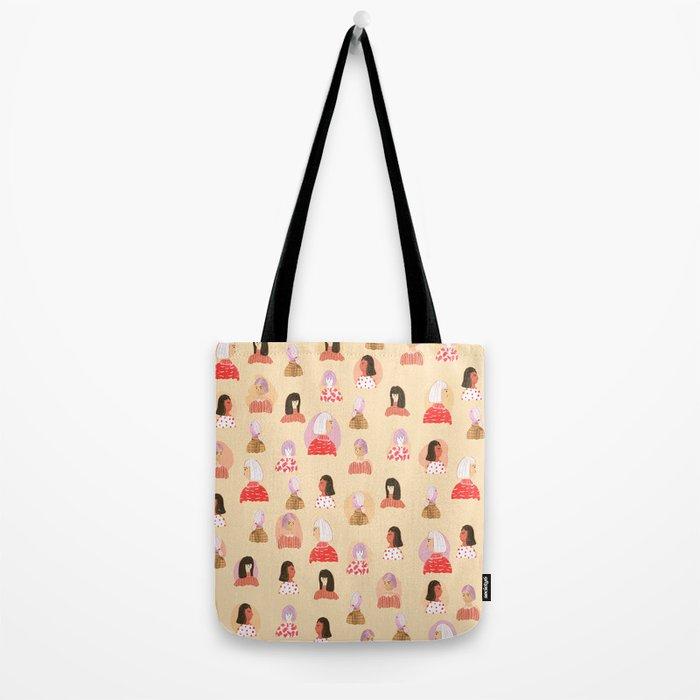Tell Me Something Lovely Tote Bag
