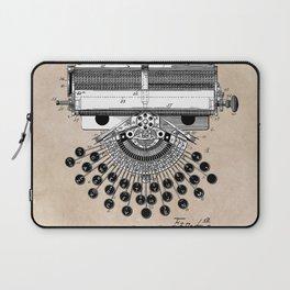 patent art type writing machine Laptop Sleeve