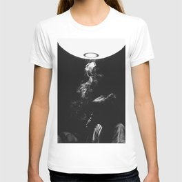 Smoking Lady T-shirt