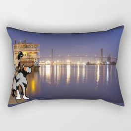River Street Roamers Rectangular Pillow