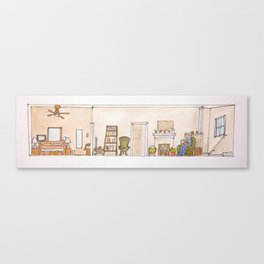 A home for babe Canvas Print