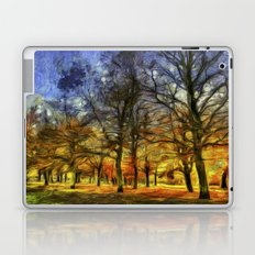 Greenwich Park London sunset Art Laptop & iPad Skin
