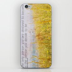 The Only Person iPhone & iPod Skin