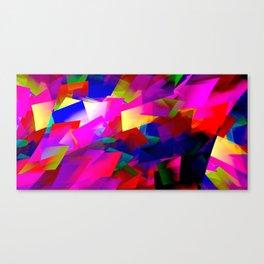 Weird cubism Canvas Print