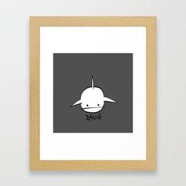minima - hover shark Framed Art Print