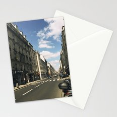 Sunny Day in Le Marais Stationery Cards