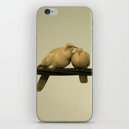 loving doves iPhone Skin