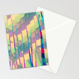 pastel prism Stationery Cards