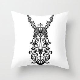 Decorative goat Throw Pillow