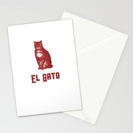 EL GATO Stationery Cards