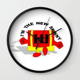 Hi I'm the new skinny Wall Clock