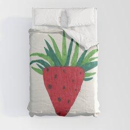 Strawberry Tone Art Comforters
