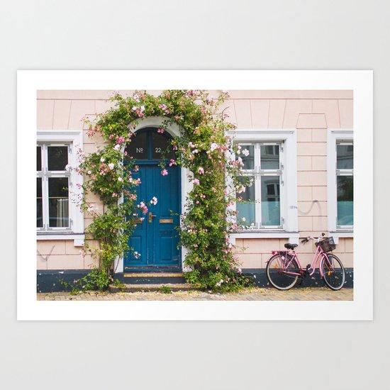 Bicycle. Art Print