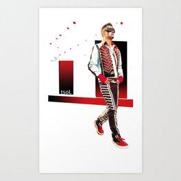 Can the Kool be Loved? II Art Print