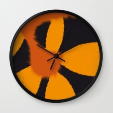 No714 My Garfield minimal movie poster Wall Clock