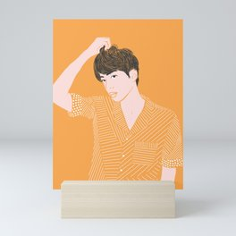 Bangtan Jin Mirror Version 2 Mini Art Print