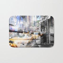 New York City   Geometric Mix No. 9 Bath Mat