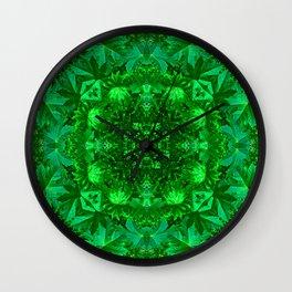 Archangel Raphael Healing Mandala Wall Clock