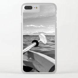 Paddle the Salish Sea Clear iPhone Case