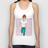model Tank Tops featuring Model by Francisco Javier