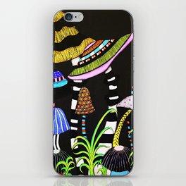 Majestic Mushrooms iPhone Skin