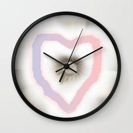 Love you and me Wall Clock