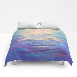 Rainbow Reflections Comforters