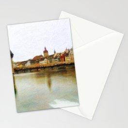 Lucerne Cityscape 2 Stationery Cards