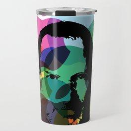 Lab No. 4 - Steve Jobs Inspirational Typography Print Poster Travel Mug